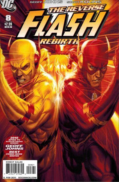 "Flash #8 Stanley ""Art Germ"" Lau Variant"