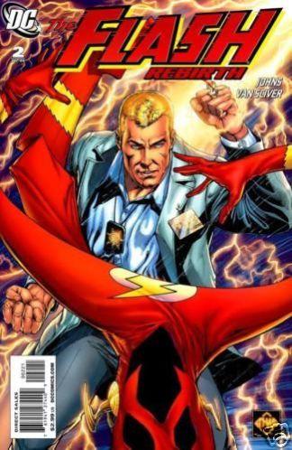 Flash Rebirth #2 1:25 Ethan Van Sciver Variant DC Comics 2009 Geoff Johns