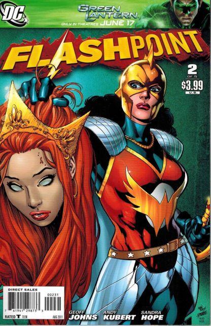 Flashpoint #2 Ivan Reis Wonder Woman Variant