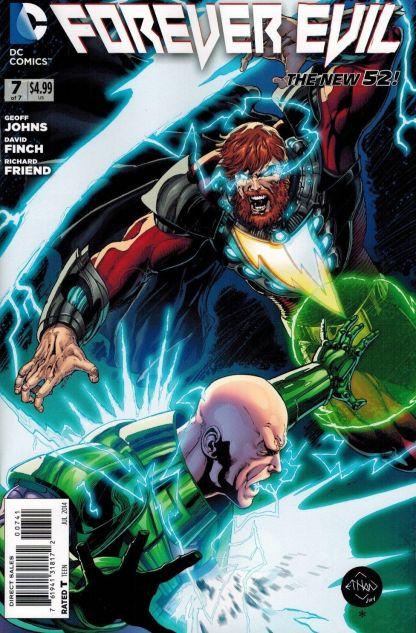 Forever Evil #7 1:50 Ethan Van Sciver Lex Luthor SHAZAM Variant DC 2013