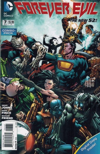 Forever Evil #7 David Finch Variant Combo Pack Geoff Johns DC 2013