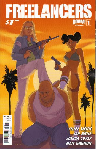 Freelancers #1 Cover A Phil Noto Variant SOLD OUT!