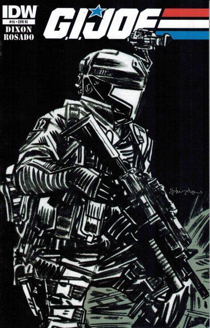 G.I. Joe #15 Tommy Lee Edwards Variant