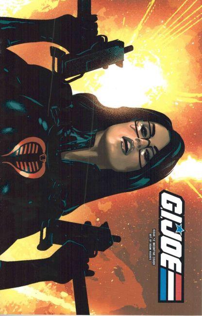 G.I. Joe #2 Adam Hughes Wraparound Variant