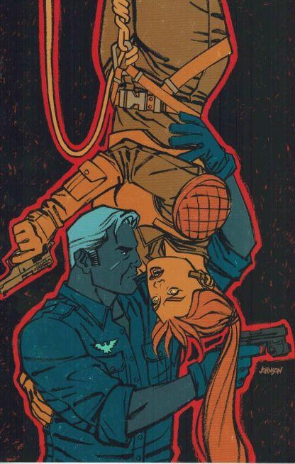G.I. Joe #6 Dave Johnson Variant