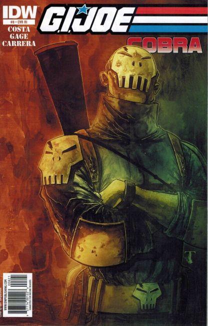 G.I. Joe: Cobra #8 Ben Templesmith Variant