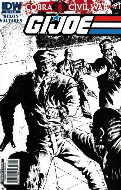 G.I. Joe: Cobra Civil War #2 Javier Saltares Variant