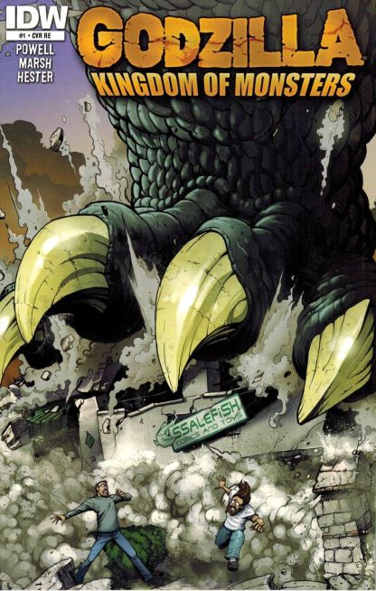Godzilla: Kingdom of Monsters #1 Ssalefish Retailer Exclusive Variant