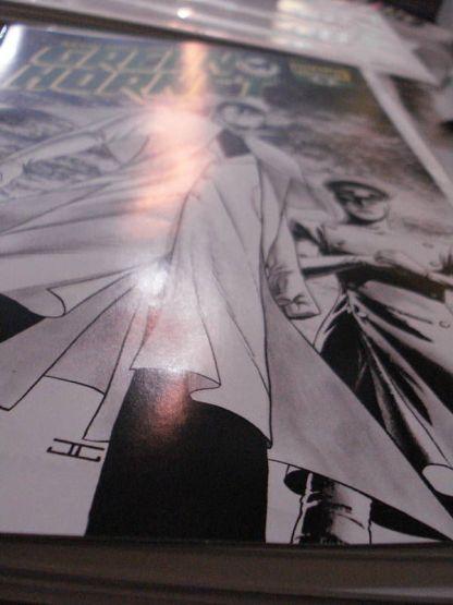Green Hornet #4 Cassaday Sketch Variant Kevin Smith