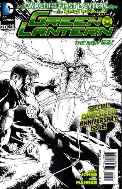 Green Lantern #20 1:25 Doug Mahnke Black and White Variant 1st Jessica Cruz