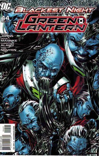 Green Lantern #44 Phillip Tan Variant Blackest Night