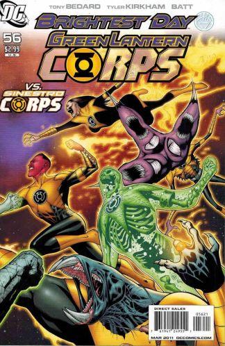 Green Lantern Corps #56 Patrick Gleason Sinestro Corps Variant