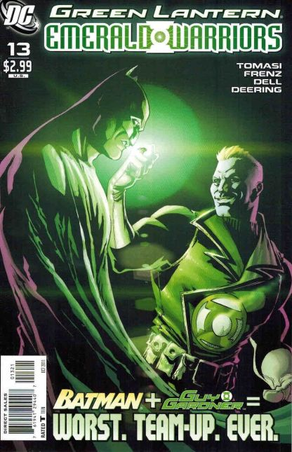 Green Lantern Emerald Warriors #13 1:10 Pete Woods Variant DC Comics 2010