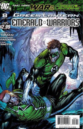 Green Lantern: Emerald Warriors #8 Tyler Kirkham Variant