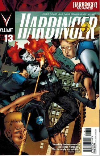 Harbinger #13 1:20 Khari Evans Variant 2012 Valiant Harbinger Wars