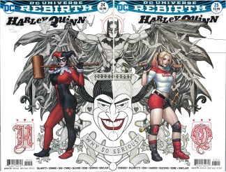 Harley Quinn #24 & #25 Frank Cho Connecting Variant Cover B DC 2016
