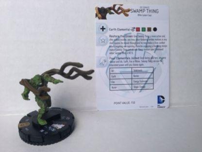Heroclix War Of Light Swamp Thing #053 Super Rare Mint Condition