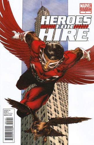 Heroes for Hire #1 2010 Tolibao Variant