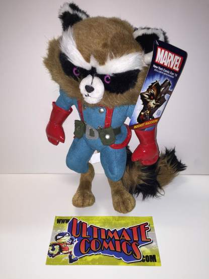 Rocket Raccoon Plush New York Comic Con 2013 Exclusive Guardians NYCC PLUSH ONLY
