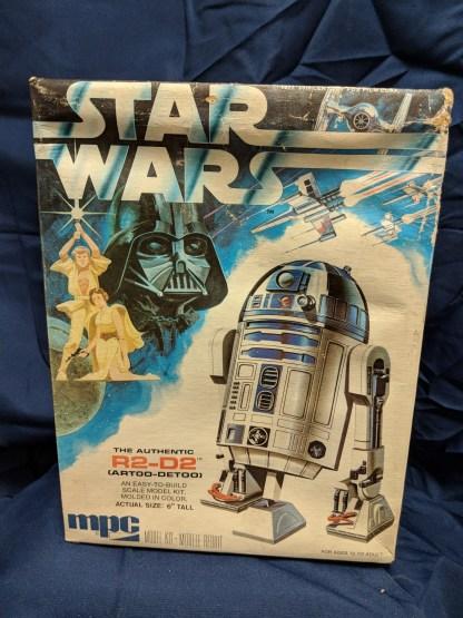 MPC Star Wars R2-D2 Scale Model Kit 1977 *Damaged Box*
