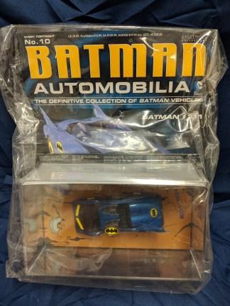 Batman Automobilia Car Collection 10 Batman #311 Batmobile with Magazine