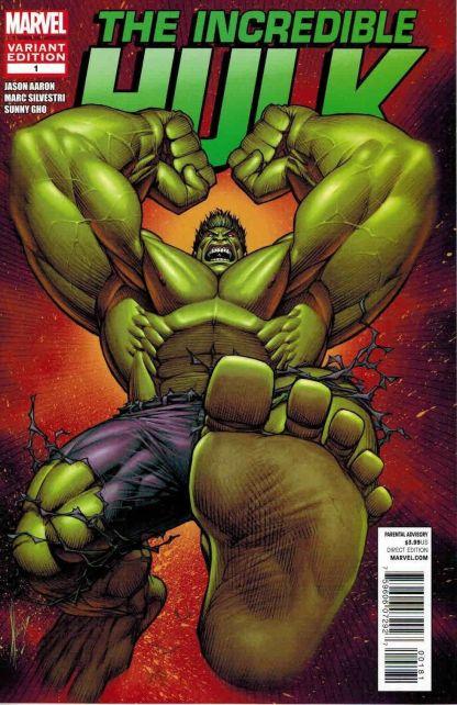 Incredible Hulk #1 Dale Keown Variant