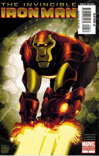 Invincible Iron Man #5 Kaare Andrews Marvel Apes Variant