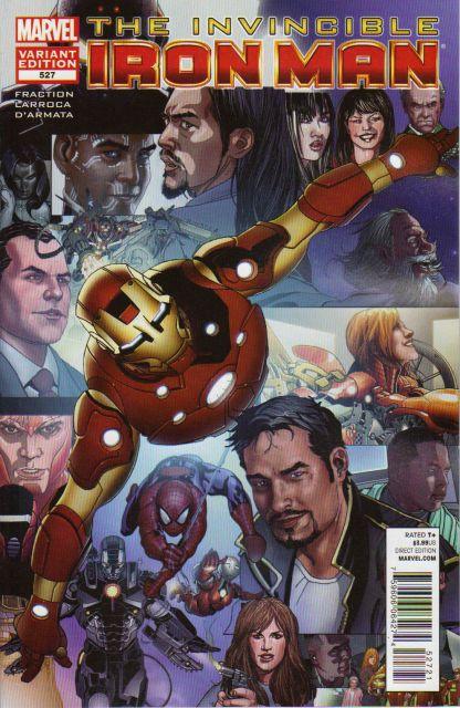 Invincible Iron Man #527 Larroca Last Issue Variant