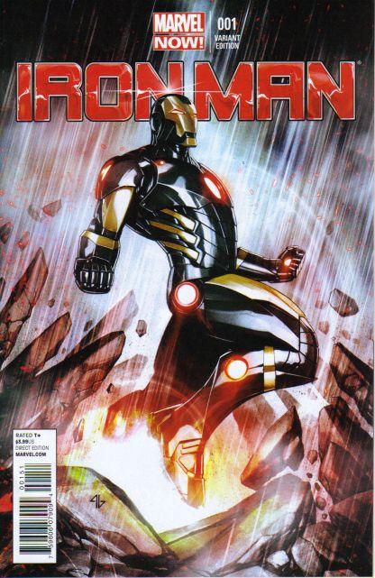 Iron Man #1 1:50 Adi Granov Variant Marvel NOW 2012