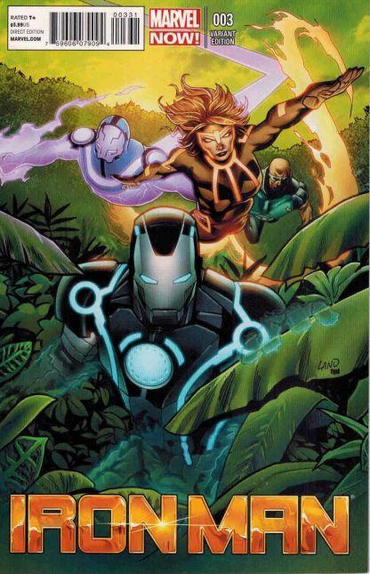 Iron Man (2012) #3 Greg Land Variant