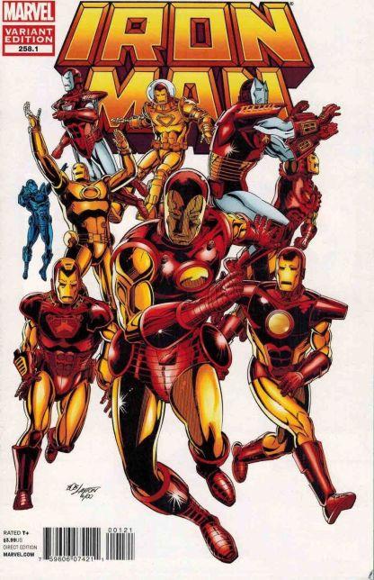 Iron Man #258.1 Bob Layton Variant