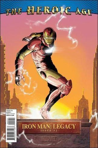 Iron Man: Legacy #2 Heroic Age Variant