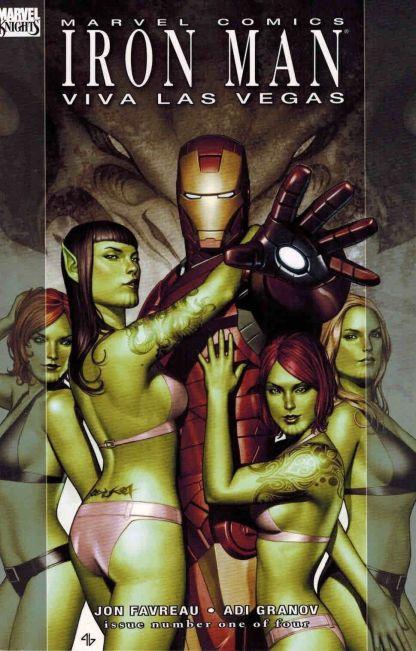 Iron Man: Viva Las Vegas #1 Juan Doe Skrull Variant Jon Favreau