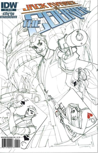 Jack Avarice is the Courier #1 Sketch Variant