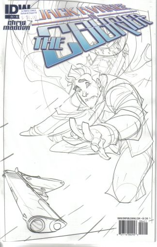 Jack Avarice is the Courier #4 Sketch Variant