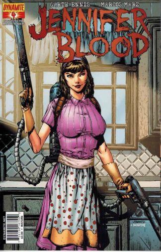 Jennifer Blood #4 Johnny Desjardin Variant