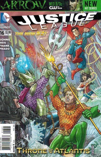 Justice League #16 Langdon Foss Variant Throne of Atlantis