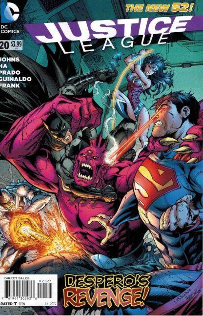 Justice League #20 Tyler Kirkham Variant Despero's Revenge