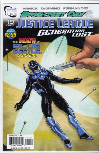 Justice League: Generation Lost #19 Kevin Maguire Variant
