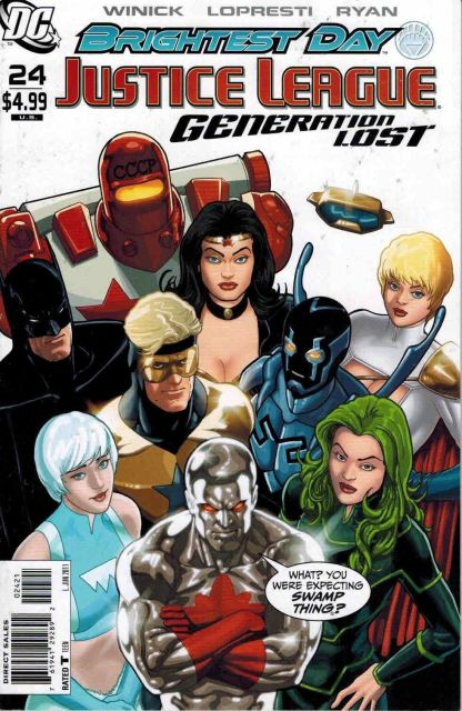 Justice League: Generation Lost #24 Kevin Maguire JLA Variant