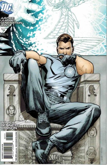 Justice League: Generation Lost #7 Ryan Sook White Lantern Max Lord Variant