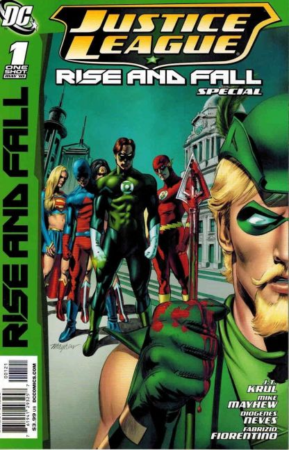 Justice League: Rise and Fall Special #1 Mike Mayhew Variant