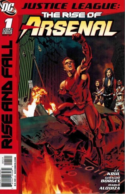 Justice League: The Rise of Arsenal #1 Mike Mayhew Variant