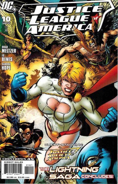 Justice League of America #10 Phil Jimenez Variant DC 2006