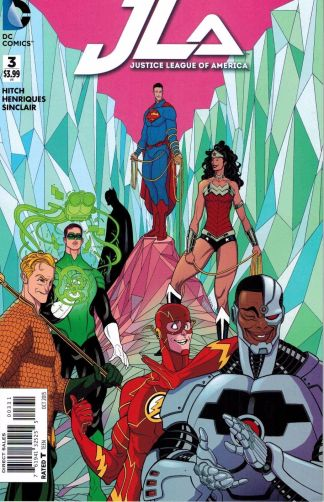 Justice League of America #3 1:25 Tradd Moore Variant DC 2015