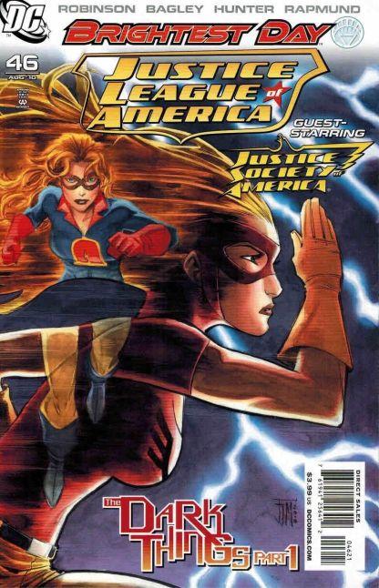 Justice League of America #46 Francis Manapul Jesse Quick Variant