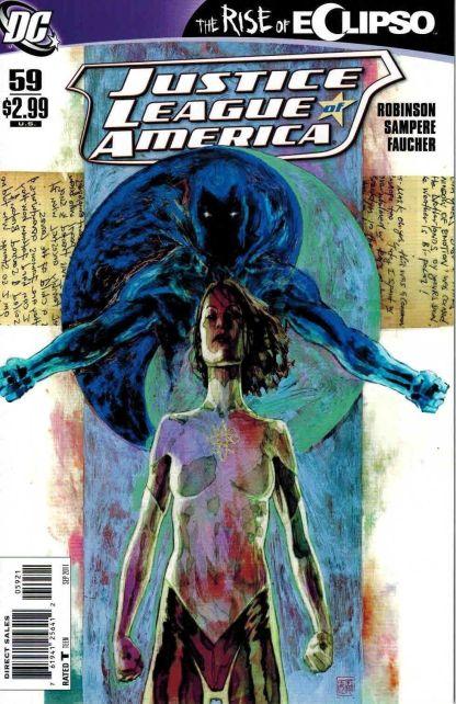 Justice League of America #59 David Mack Variant