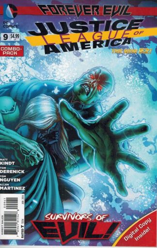 Justice League of America #9 Digital Combo Pack Variant