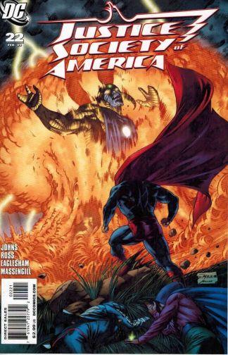 Justice Society of America #22 Dale Eaglesham Variant