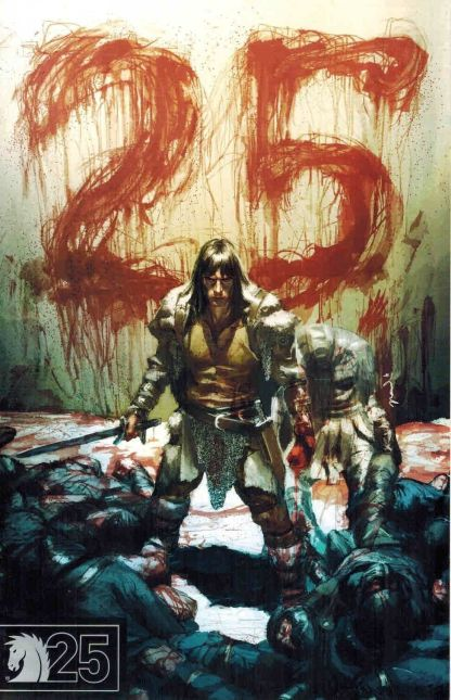 King Conan: The Scarlet Citidel #1 Dark Horse 25th Anniversary Variant